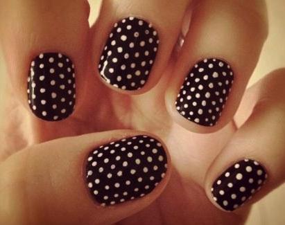 nail art avec dotting tool