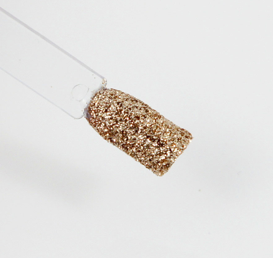 nail art paillettes dorées