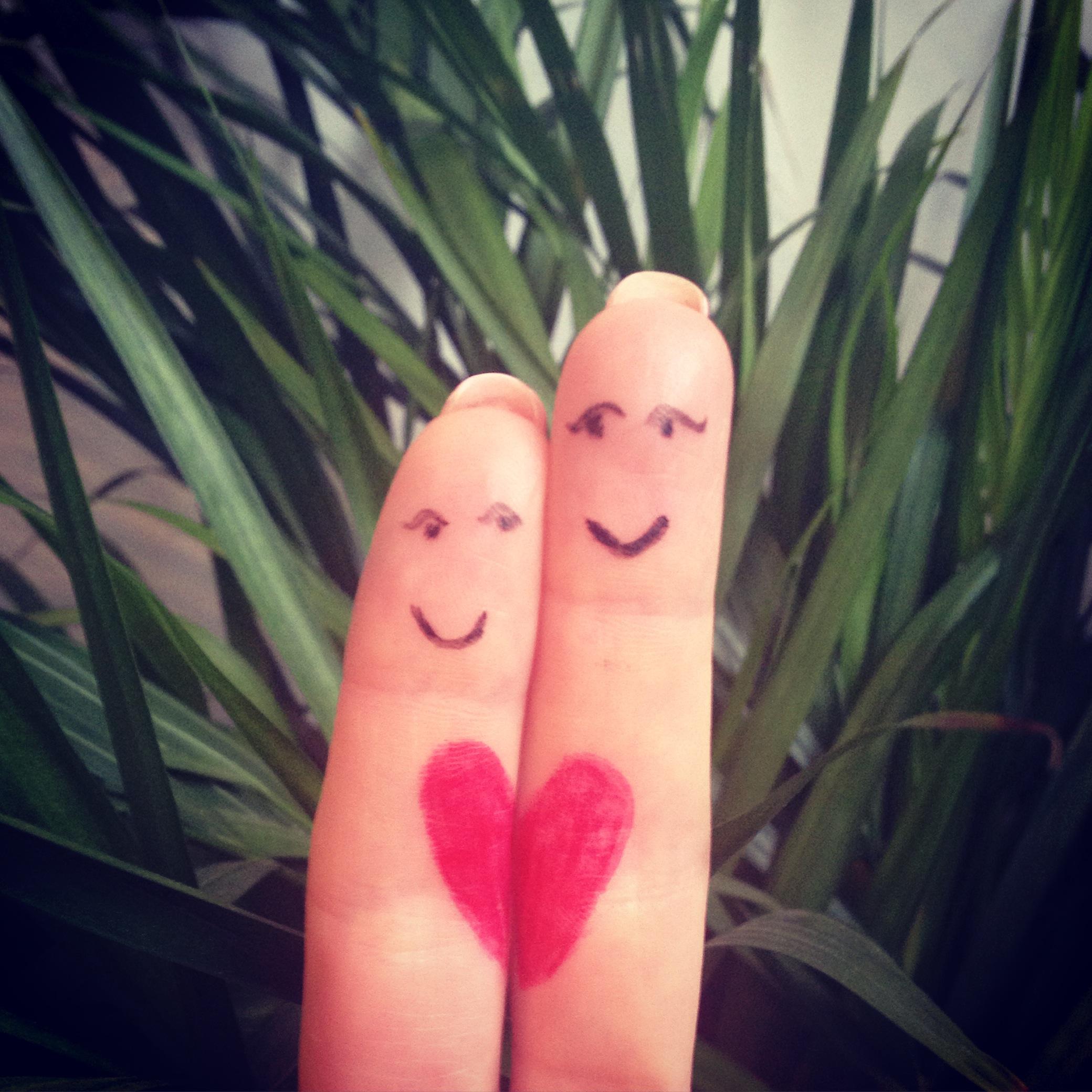 doigts amoureux