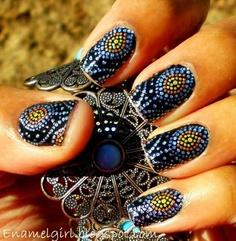 Nail Art en décoration complète de l'ongle